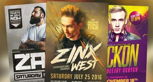 Best DJ Flyer Templates
