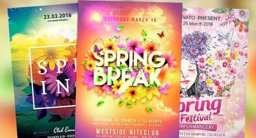 Best Spring Flyer Templates