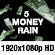 Money Rain - Euro, Dollar, Pound, Ruble, Yen - VideoHive Item for Sale