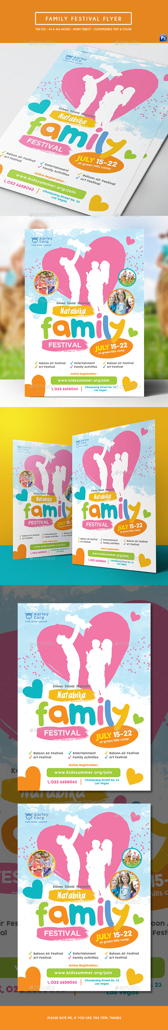 Family Festival Flyer - Events Flyers
