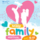 Family Festival Flyer - GraphicRiver Item for Sale