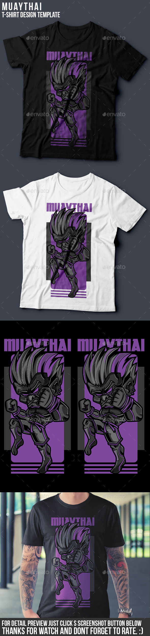 Muay Thai T-Shirt Design - Sports & Teams T-Shirts