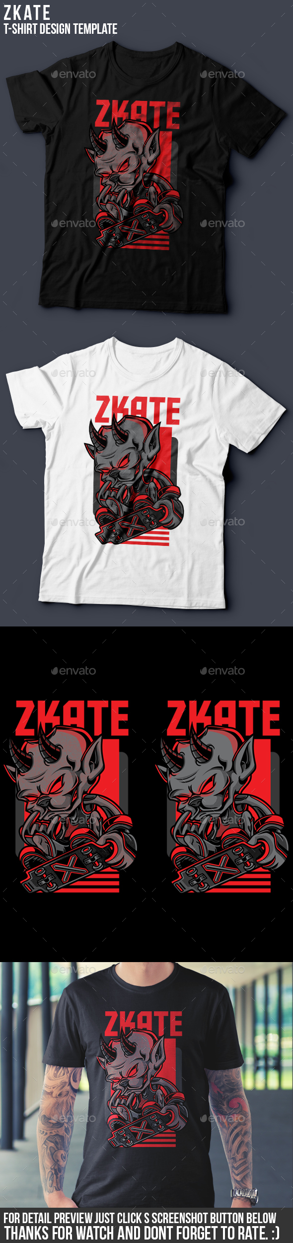 Zkate T-Shirt Design - Sports & Teams T-Shirts
