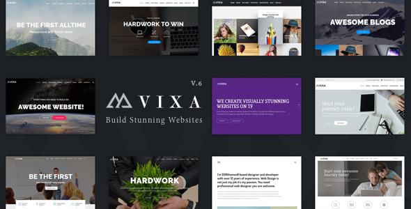 Vixa – Creative Multi-Purpose WordPress Theme
