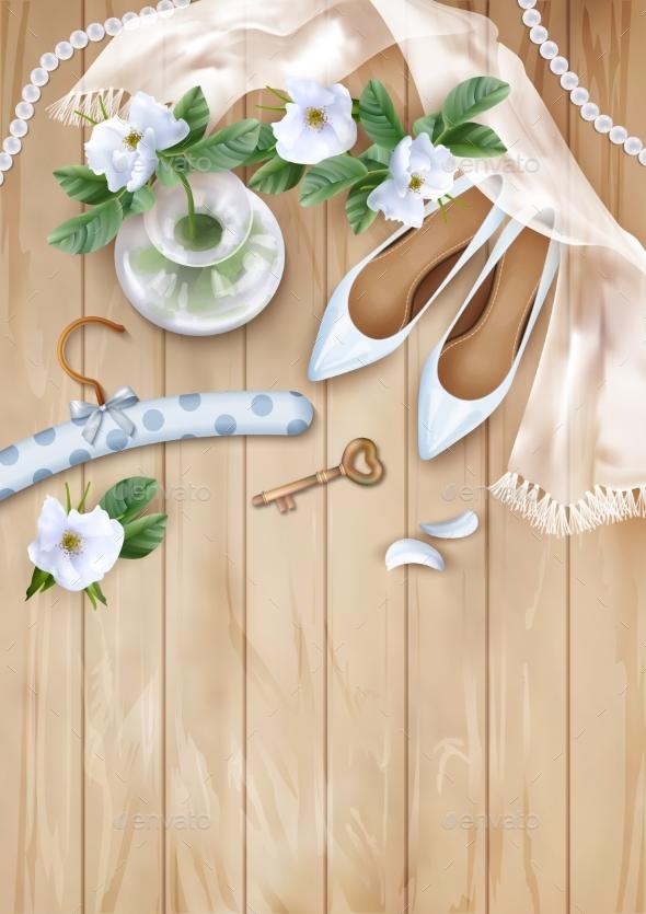 Wedding Floral Background - Weddings Seasons/Holidays