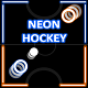 Neon Hockey - Local Multiplayer + Admob (Construct 2 - CAPX) - CodeCanyon Item for Sale
