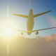 Plane Takes Off At Sunrise - VideoHive Item for Sale