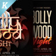 Bollywood Night Flyer Templates