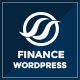 Financial Business Hub Corporate WordPress Theme - RTL Nulled