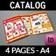 Supermarket Products Catalog Bi-Fold Brochure Vol.3 - GraphicRiver Item for Sale