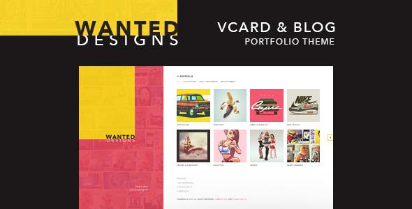 Wanted | Personal Portfolio, Blog and CV - Portfolio Creative