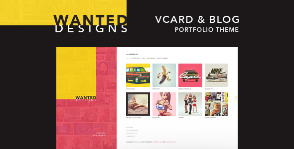 Wanted | Personal Portfolio, Blog and CV
