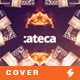 Ateca - Electronic Music Cover Image Artwork Template