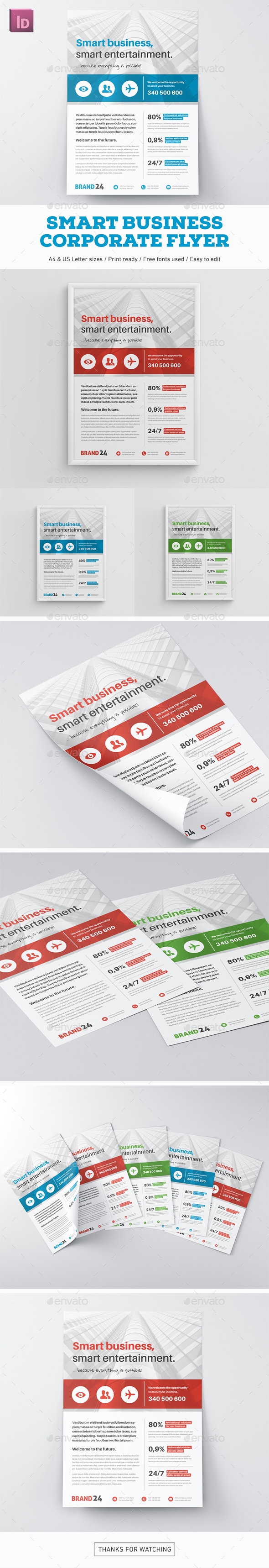 Smart Business Flyer - Corporate Flyers
