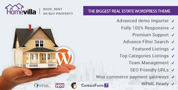 Home Villas | Real Estate WordPress Theme
