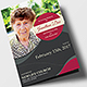 Funeral Program Brochure Template 05 - GraphicRiver Item for Sale