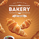 Bakery Croissant Flyer - GraphicRiver Item for Sale