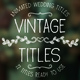 Vintage Titles - VideoHive Item for Sale