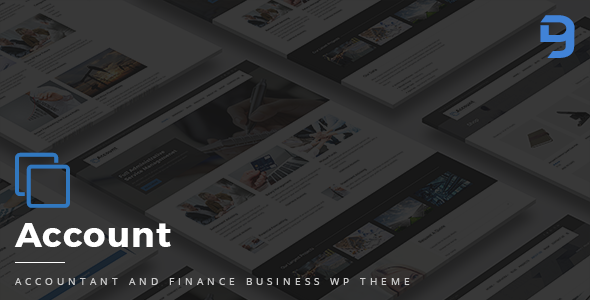 Account - Accountant And Finance Business WP Theme - Business Corporate