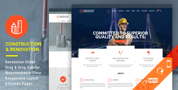Here Are the Best 10+ WordPress Themes for Architects [sigma_current_year] 8