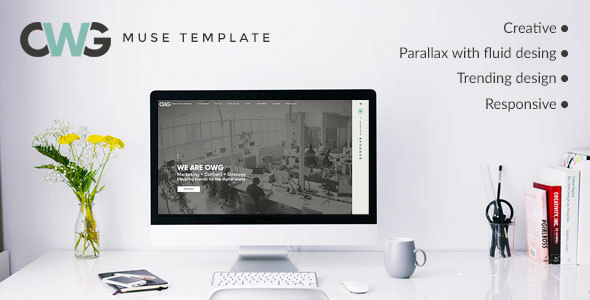 OWG Agency Muse Template - Creative Muse Templates