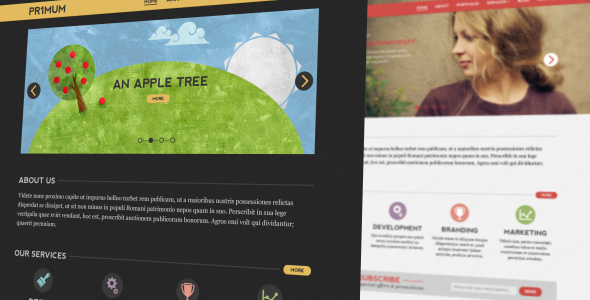 Free Download Primum PSD Template Nulled Latest Version