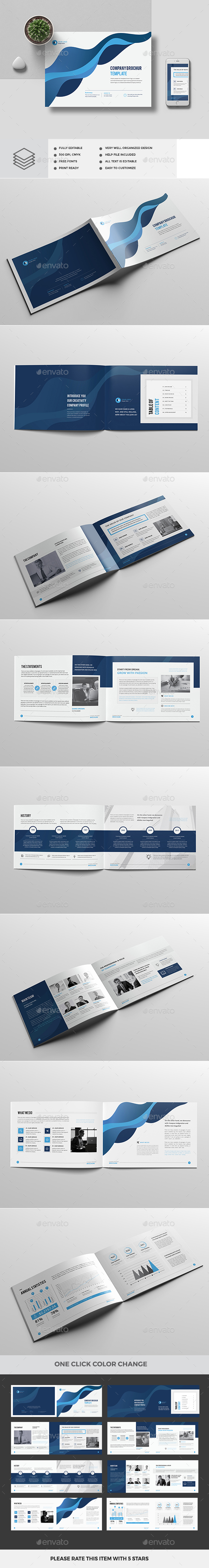 A4 Landscape Company Profile 16 Pages V2 - Corporate Brochures