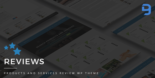 Reviews - Products And Services Review WP Theme