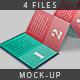 Z-Card Mock-up - 10 Panels C-Fold - GraphicRiver Item for Sale