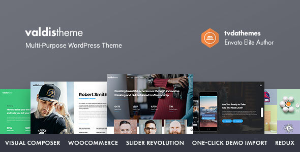 Valdis – Responsive Multi-Purpose Theme