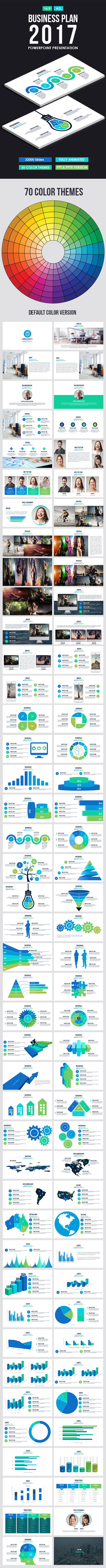 Business Plan 2017 Powerpoint Presentation - Business PowerPoint Templates