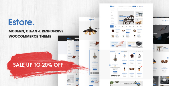 Estore – Modern Clean WooCommerce WordPress Theme
