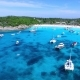 Racha Island Beach. Thailand, Phuket. Yachts , Catamarans and Boats Sailing in Crrystal Clear Blue - VideoHive Item for Sale