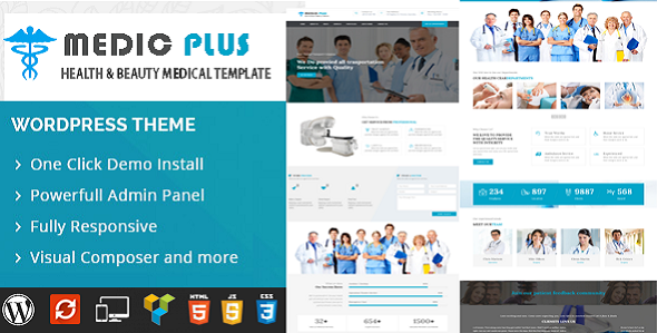 ThemeForest MedicPlus-Medical Theme 19455189