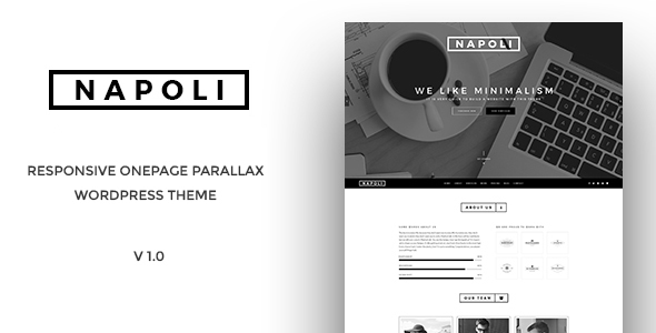 Napoli – One Page Parallax WordPress Themes