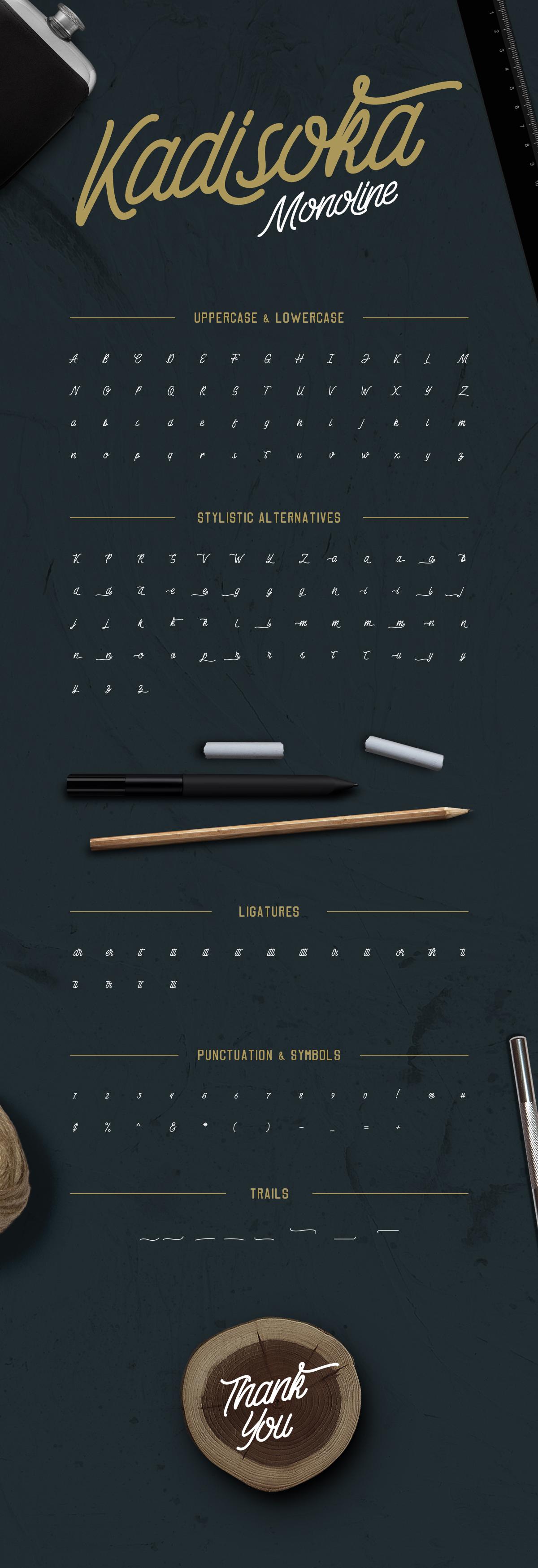 Download Kadisoka Font Pack by letterhend   GraphicRiver