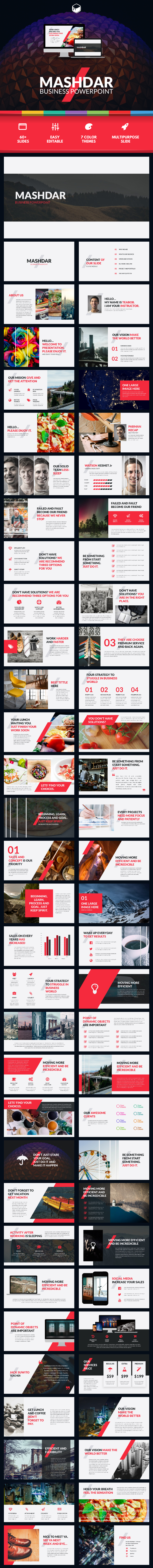 Mashdar - Business PowerPoint - Business PowerPoint Templates