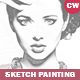 Sketch Portrait Photoshop Actions