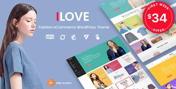 iLove – Creative Fashion WooCommerce WordPress Theme