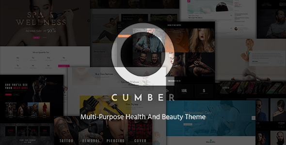 qCumber - Health & Beauty Multi-Purpose Theme