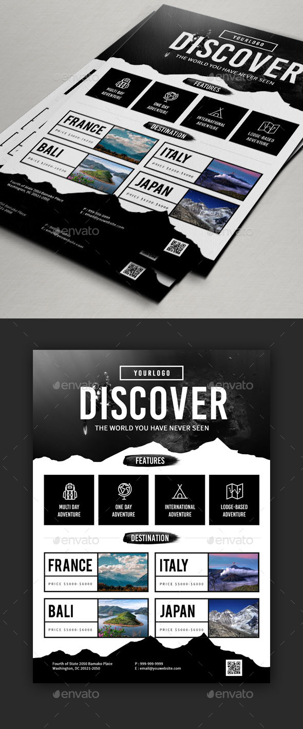 Travel Flyers Designs V2 - Holidays Events