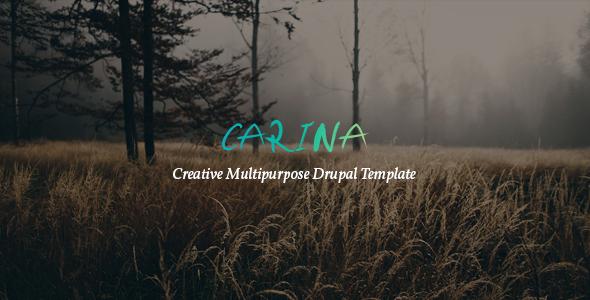 Carina - Creative Multipurpose Drupal 8 Template - Creative Drupal