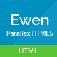 Ewen - Multipurpose HTML5 Parallax Template - ThemeForest Item for Sale
