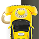 Taxi Yellow Phone - GraphicRiver Item for Sale