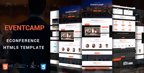 EventCamp – Event and Conference Template.