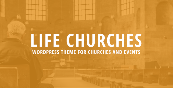 Life Churches – WordPress Theme for Churches and Events
