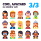 Set of Avatars Part 3/3 - GraphicRiver Item for Sale