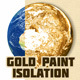Gold Paint Isolation Action V02 - GraphicRiver Item for Sale