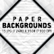 Paper Backgrounds - GraphicRiver Item for Sale