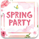 Spring Party Flyer Template v3 - GraphicRiver Item for Sale